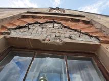 Здание в Санкт-Петербурге, где находился рельеф с изображением Мефистофеля