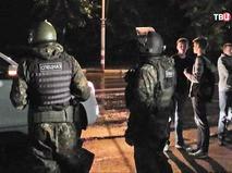 Спецназ на месте пожара в ульяновском СИЗО