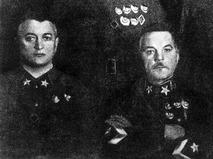 Михаил Тухачевский и Климент Ворошилов