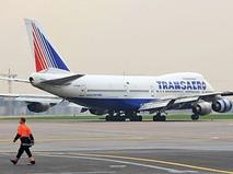 "Самолет Боинг 747-200 авиакомпании ""Трансаэро"""