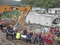 Спасательная операция в Гватемале