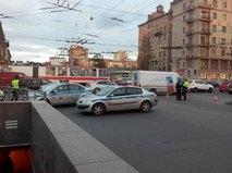 Полиция на месте взрыва в Санкт-Петербурге