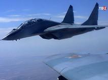 Истребитель МиГ-29 авиационной группировки ВКС России