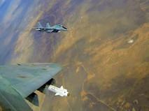Истребители МиГ-29 авиационной группировки ВКС России