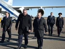 """Владимир Путин прибыл с инспекцией на космодром """"Восточный"""""""