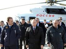Владимир Путин прибыл в Благовещенск