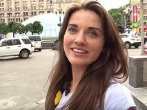26-летняя активистка Майдана, заместитель губернатора Одесской области Михаила Саакашвили Юлия Марушевская