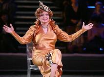 Татьяна Шмыга на арене цирка