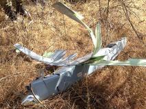 Опубликованы фотографии сбитого в Турции беспилотника