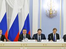 Заседание Консультативного совета по иностранным инвестициям в России