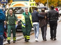 На месте происшествия в Швеции