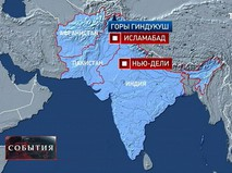 Карта Индии