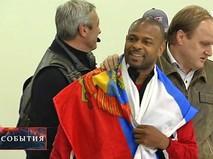 Американский боксёр Рой Джонс