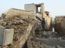 Последствия землетрясения в Афганистане