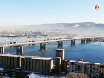 Мост через Енисей