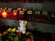 Акция у ХХС в память о жертвах крушения А321