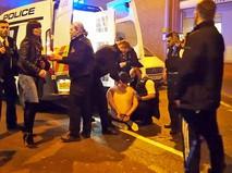 Полиция Англии проводит задержание