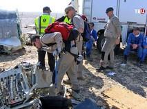 На месте крушения самолета Airbus A321
