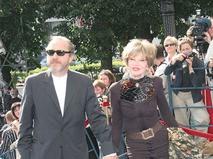 Людмила Гурченко с супругом