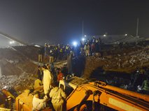 Поисково-спасательные работы в Пакистане