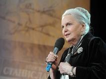 Элина Быстрицкая на праздновании 76-й годовщины Центрального дома актёра в Москве