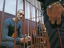 Художник Петр Павленский в Таганском суде Москвы, который рассмотрит ходатайство следствия об избрании ему меры пресечения