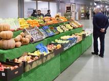Овощной прилавок в агрокластаре