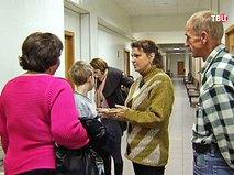 Елена Коробова, мать изъятых детей, в суде