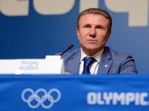Глава НОК Украины, вице-президент IAAF Сергей Бубка