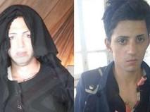 Боевики ИГ в женских платьях