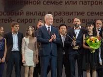 """Сергей Собянин на ежегодной премии """"Крылья аиста"""""""