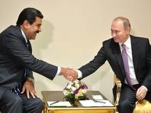 Владимир Путин с Президентом Венесуэлы Николасом Мадуро