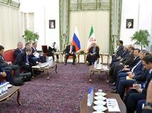 Владимир Путин с Президентом Ирана Хасаном Рухани