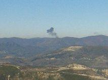 Крушение истребителя в районе горах Турции