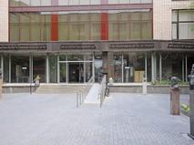 Вход в библиотеку иностранной литературы имени М.И. Рудомино