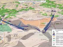 Маршруты транспортировки нефти в Турцию с территорий Сирии и Ирака