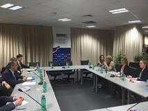 Переговоры Сергея Лаврова и Федерики Могерини