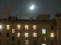 Свет в окнах дома