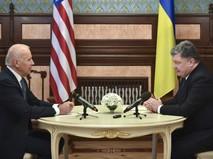 Президент Украины проводит встречу с вице-президентом США