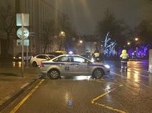 Взрыв на автобусной остановке в Москве