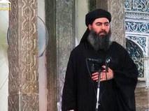 Лидер ИГ Абу Бакр аль-Багдади