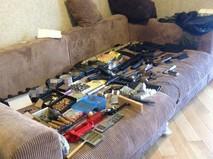 Конфискованное оружие