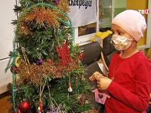 Пациентам детского онкоцентра готовятся к новому году