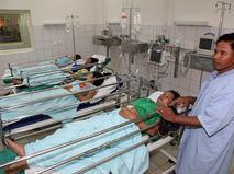 Больница в Камбодже