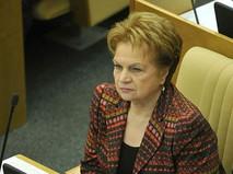 Людмила Швецова на заседании Госдумы РФ