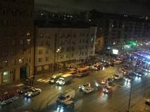 Пожар на Новослободской улице