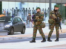 Военная полиция в Брюсселе