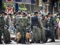 Полиция Тайланда на месте происшествия