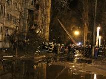 МЧС на месте взрыва в доме в Волгограде
