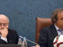 Йозеф Блаттер и Мишель Платини
